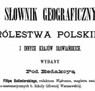 Geographical Dictionary Polish Kingdom