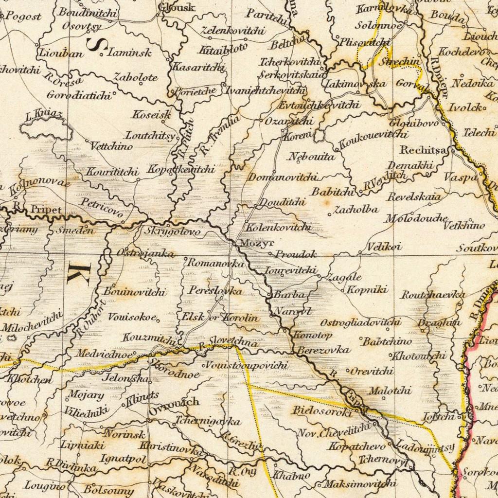 Russia in Europe - 1835 - Belarus-exported